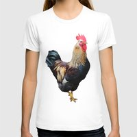 rooster T-shirts featuring Rooster by Sean Foreman