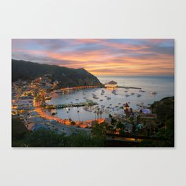 Catalina Island Canvas Print