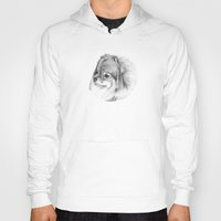 pomeranian Hoodies featuring Pomeranian by Doggyshop