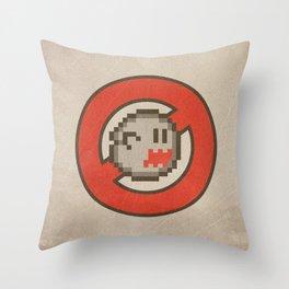Ghostbuster 16-bit Throw Pillow