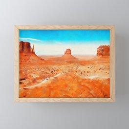Arizona Landscape Framed Mini Art Print