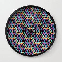 Arabic multicolor pattern Wall Clock
