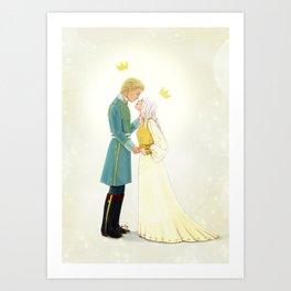 Nikolai and Alina Art Print