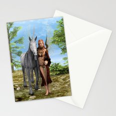 Fairy and Unicorn Stationery Cards