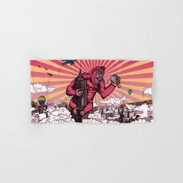 Beer Kong Hand & Bath Towel