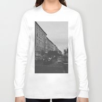 berlin Long Sleeve T-shirts featuring Berlin by Jane Lacey Smith