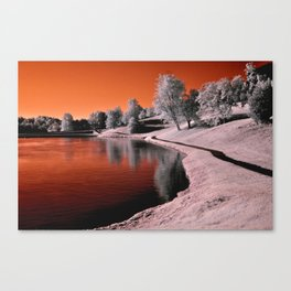 Infrared Sunrise Canvas Print