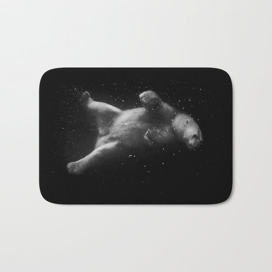 Polar Bear Dream Bath Mat