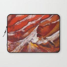 Antilope Canyon abstract painting by pastel Laptop Sleeve
