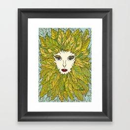 Green Lady - Spring Framed Art Print