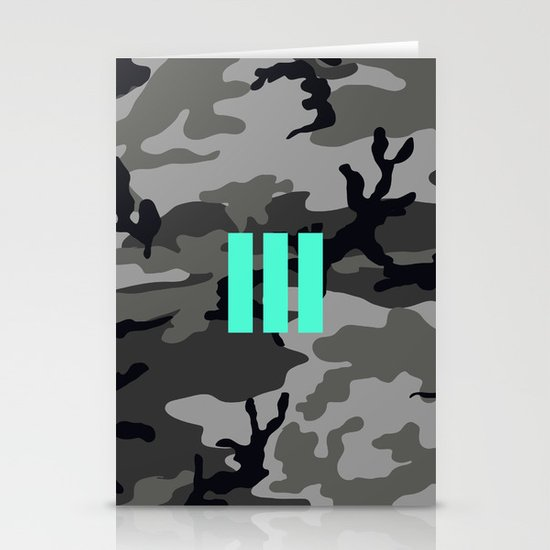 Military - Camouflage Stationery Cards