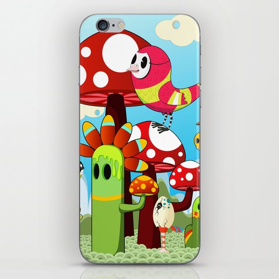 Critters iPhone & iPod Skin