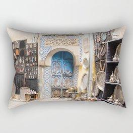 Doorway - Fes Ancient Medina Rectangular Pillow