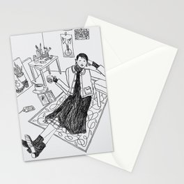 tea break Stationery Cards