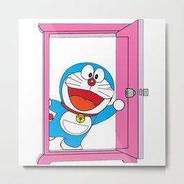 Doraemon Magic Metal Print