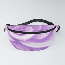 Purple Succulent Reflection Fanny Pack