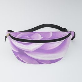 Purple Succulent Reflection Fanny Pack