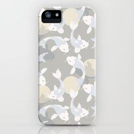 Koi fish pattern 004 iPhone Case