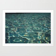 DH waters Art Print