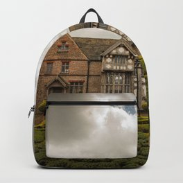 Cloudy Spring Day in an Old English Yard Backpack