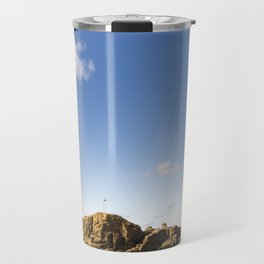Through the Arch. Travel Mug