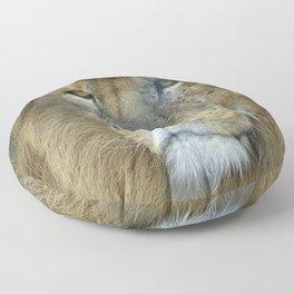 Male Lion Floor Pillow