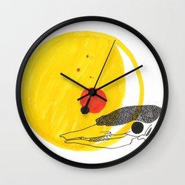 Desert Sun Skeleton Wall Clock