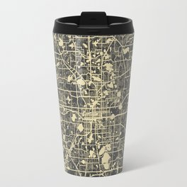 Orlando Map Travel Mug