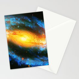 Spiral Galaxy NGC 1300 Stationery Cards