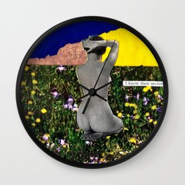 Keeper of Secrets Wall Clock