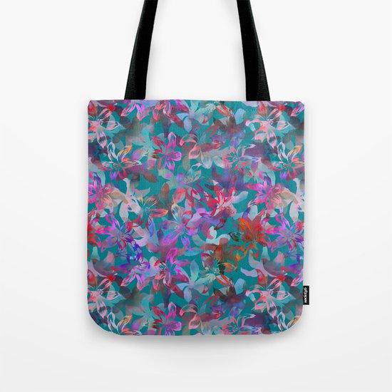 Tropical Serenade - Aqua Tote Bag