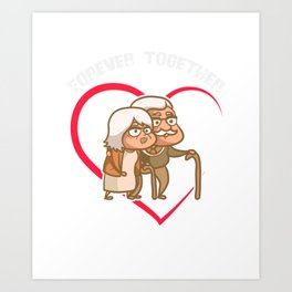 Soulmate T-Shirt Together Forever Gift Art Print