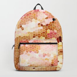 Blush Pink Abstract Spring Floral | Easter | Millennial Pink Backpack