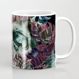 leaves skull Coffee Mug
