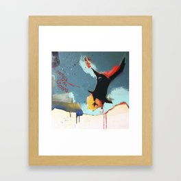 Listen to the Crows #4 Framed Art Print