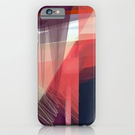 Abstract 391 iPhone Case