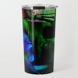 Vespa Neon Blue classico Travel Mug