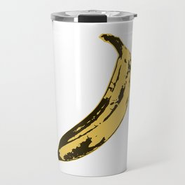 Banana Pop Art for Prints, Posters, Tshirts, Wall Art, Men, Women, Youth Travel Mug