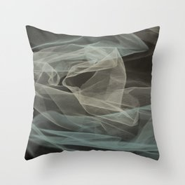 Abstract veil background 5 Throw Pillow