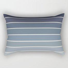 Gradient Arch - Blue Tones II Rectangular Pillow