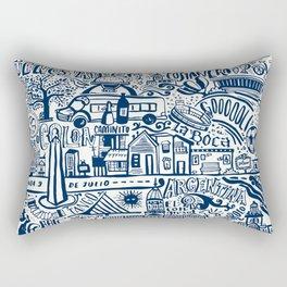 Buenos Aires Argentina Rectangular Pillow