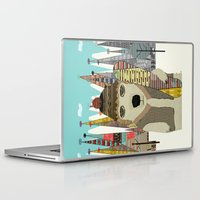 snowboarding Laptop & iPad Skins featuring murphy by bri.buckley