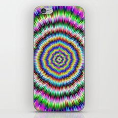 eye boggling psychedelic iPhone & iPod Skin