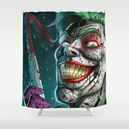 JOKER KILLS ROBIN Shower Curtain