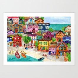 Bahia Art Print