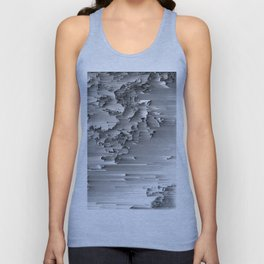 Japanese Glitch Art No.2 Unisex Tank Top