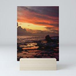 Saona Sunset Mini Art Print
