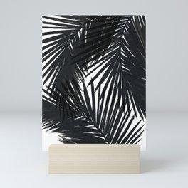 Palms Black Mini Art Print