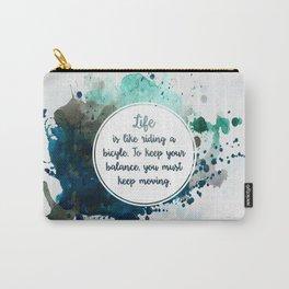 Albert Einstein's quote Carry-All Pouch