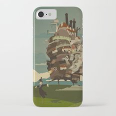Moving Castle iPhone 7 Slim Case
